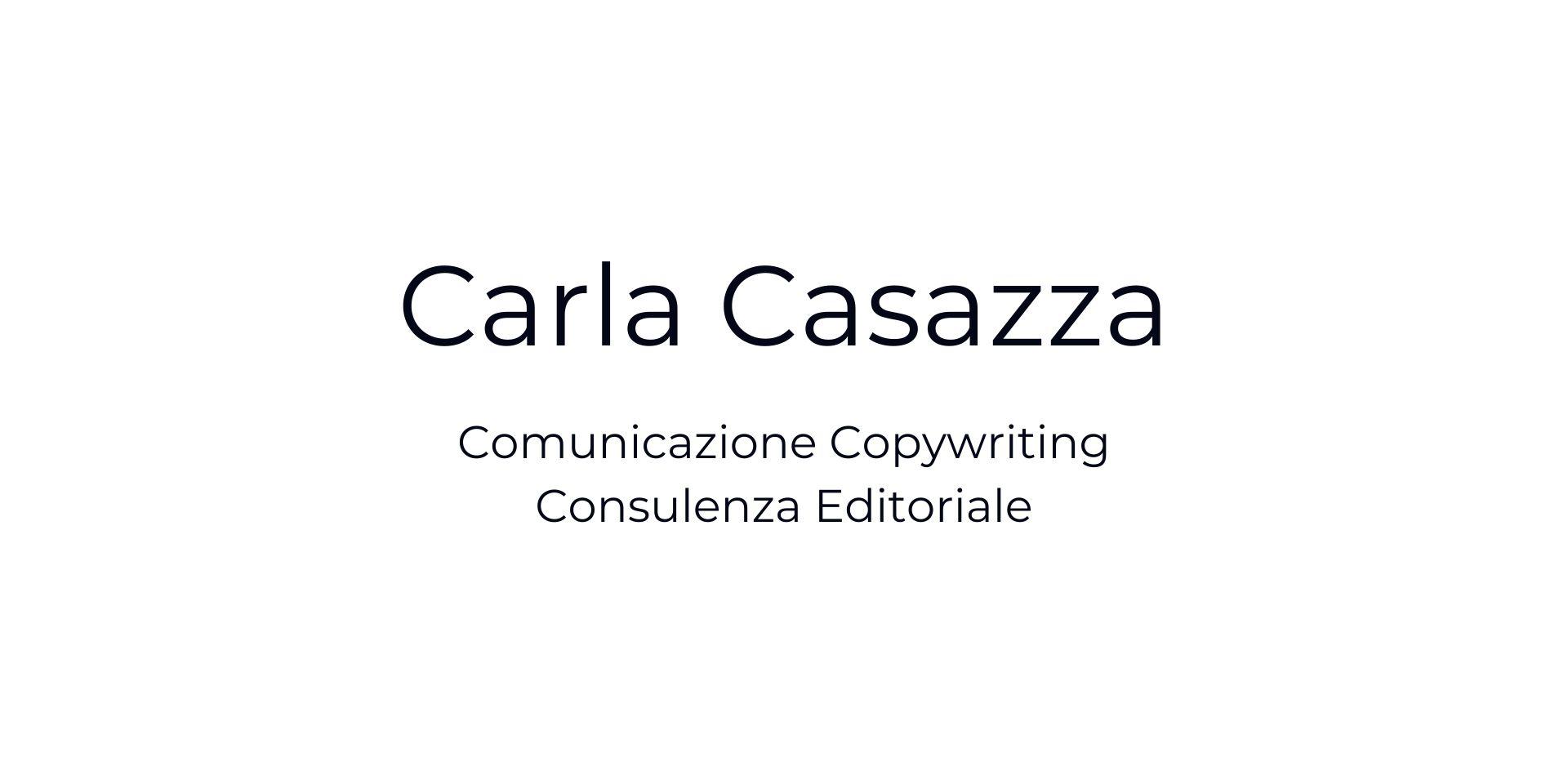 Carla Casazza